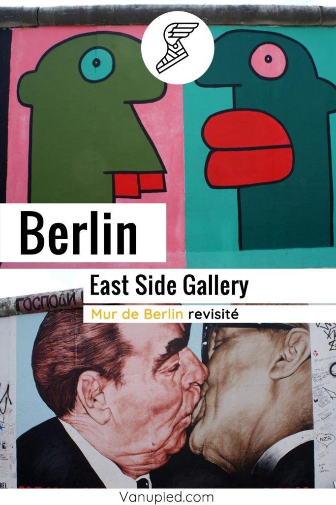 East Side Gallery, fresque sur le mur de Berlin