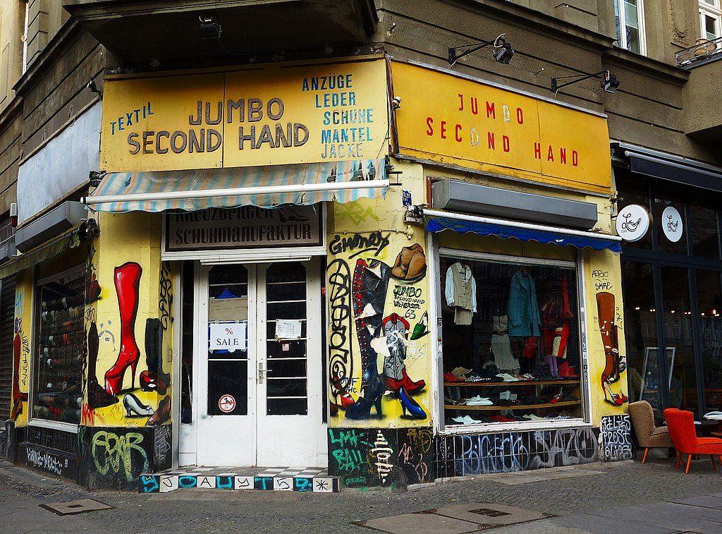 Shopping : Friperie Jumbo Second Hand à Berlin-Kreuzberg - Photo Neuköllner
