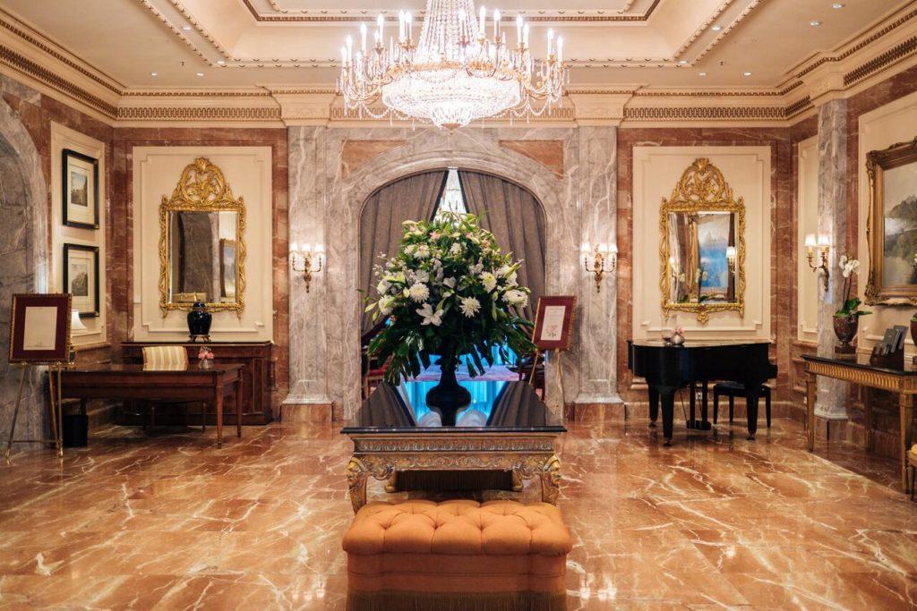 Hotel de luxe Regent Berlin.