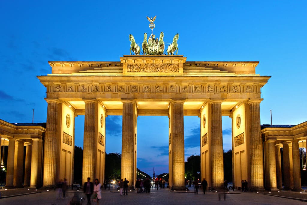 Porte de Brandebourg à Berlin - Thomas Wolf, www.foto-tw.de - CC BY-SA 3.0 DE