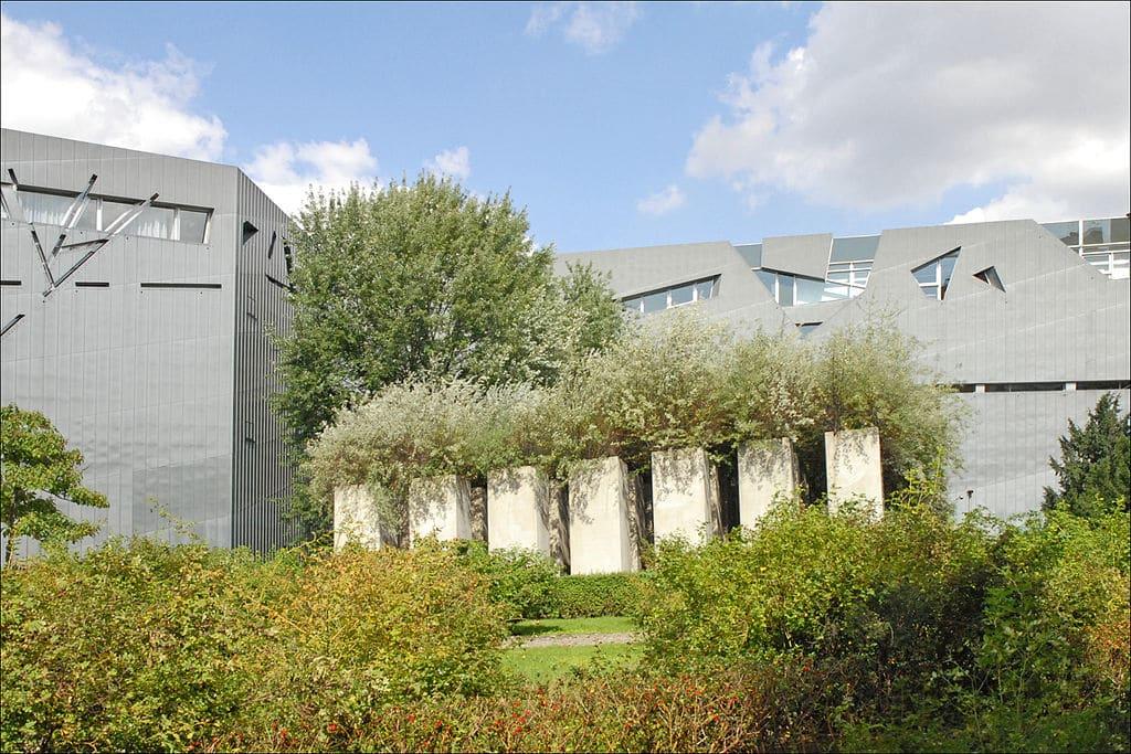 Jardin du Musée Juif de Berlin - Photo de Jean Pierre Dalbéra / Licence CC-BY-2.0