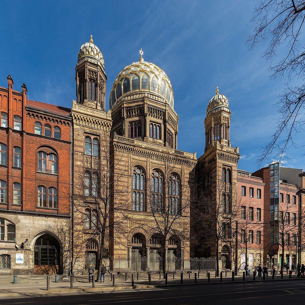 Nouvelle Synagogue de Berlin dans le quartier de Mitte - Photo de Ansgar Koreng / Licence CC-by-3.0 DE