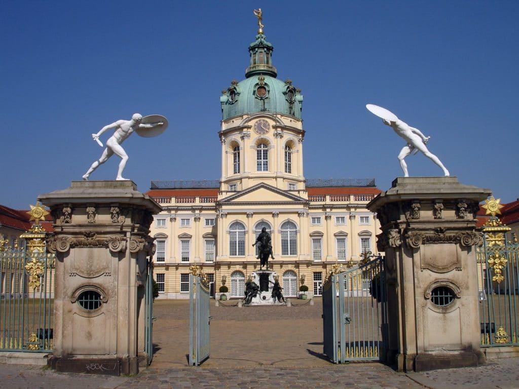 Entrée du Chateau de Charlottenburg à Berlin - Photo d'Ingrid K