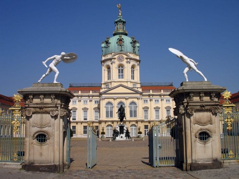 Entrée du Chateau de Charlottenburg à Berlin - Photo d'Ingrid K