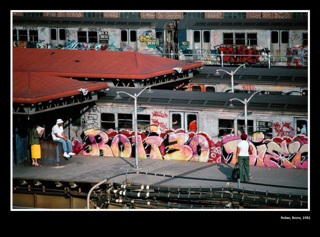Expo photo dédiée à Martha Cooper, l'une des première photographe du street art. Ici dans le Bronx à New-York en 1982.