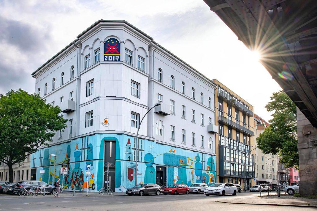 Urban Nation, musée du street art dans le quartier de Schoneberg à Berlin.