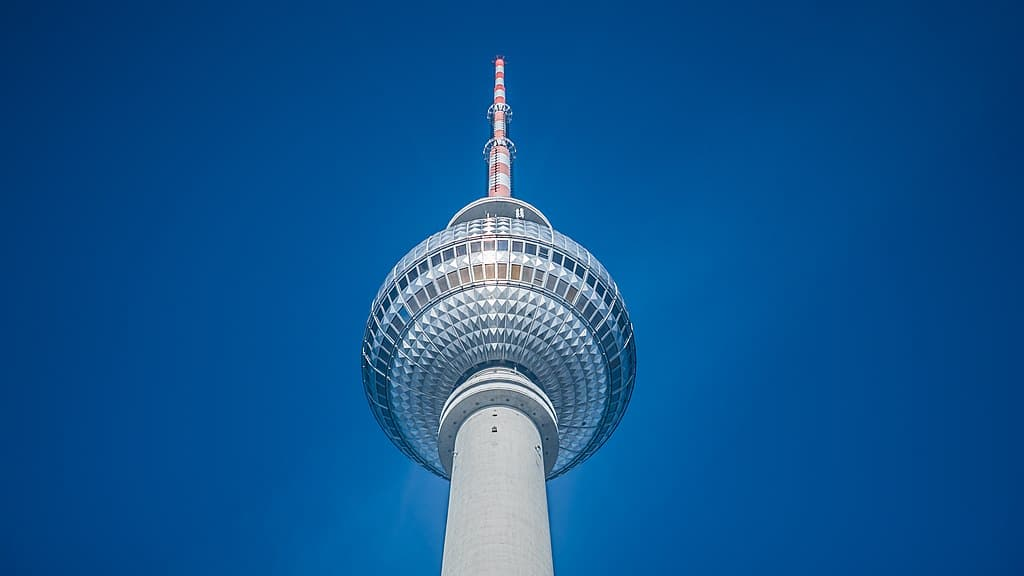 Tour TV Fernsehturm à Berlin - Photo de Wouter de Koster