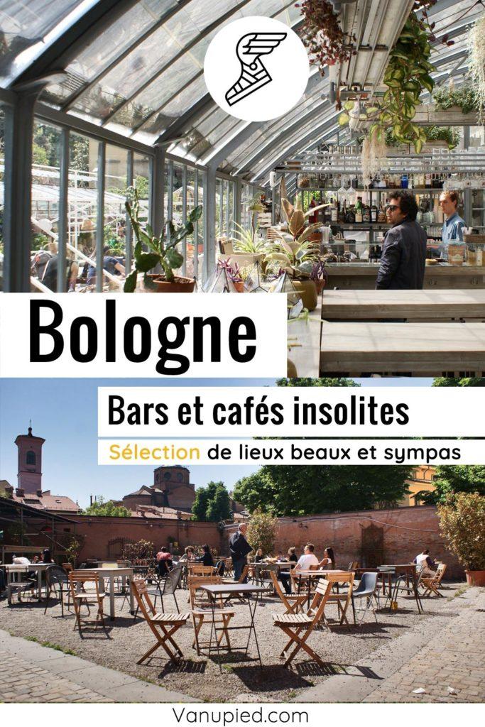 Bars et cafés insolites à Bologne