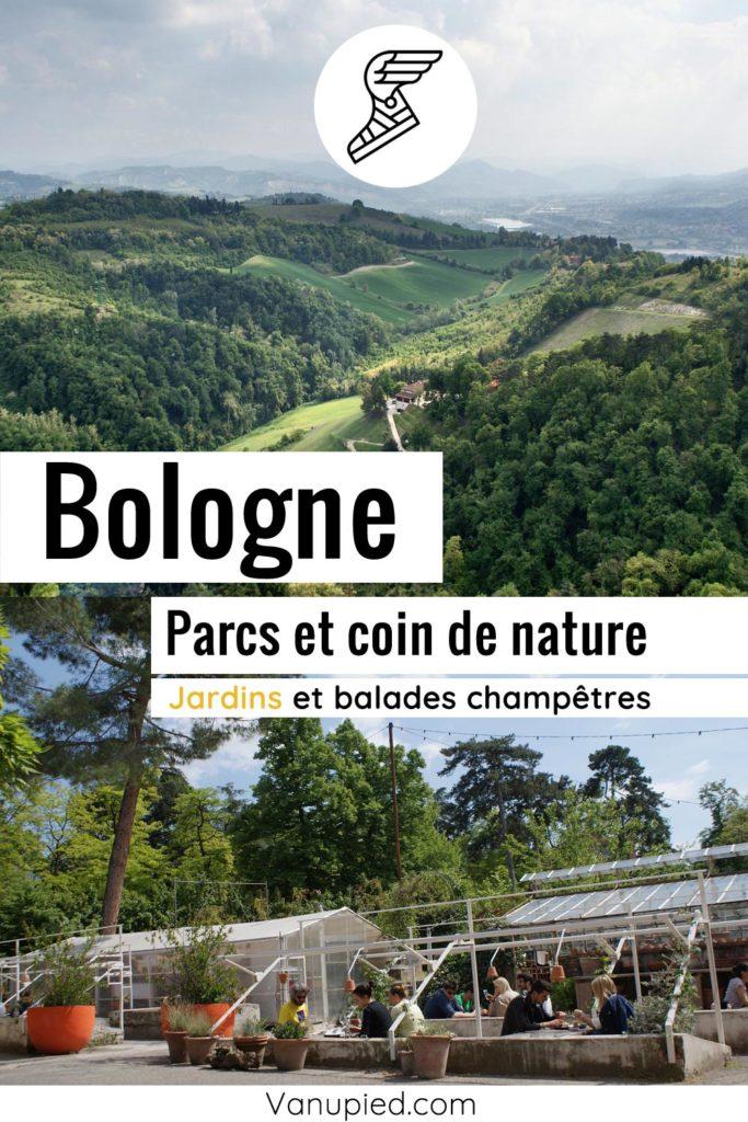 Jardins et coins de nature à Bologne