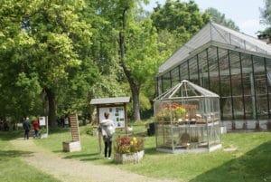 Jardin botanique de Bologne : Un bon moment en bonne compagnie