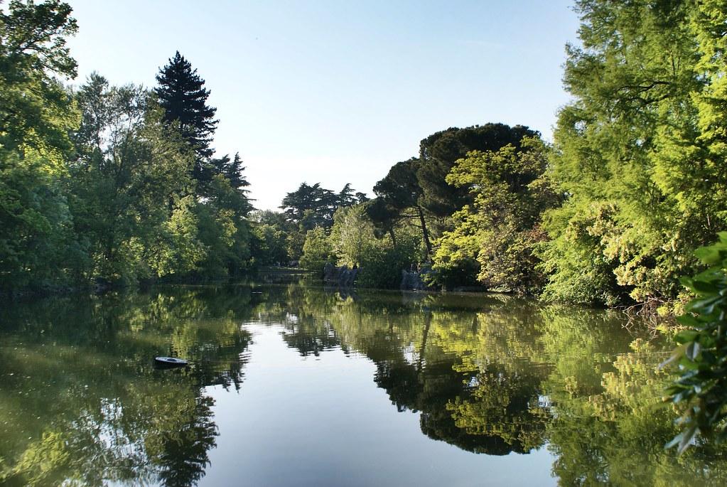 Jardin Margherita de Bologne : Idéal pour pique-niquer :) [Sud]