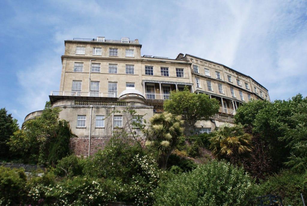 The Paragon, immeuble résidentiel surplombant Bristol depuis le quartier de Clifton.