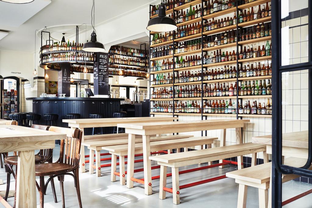 Brouwerij 't Ij à Amsterdam, micro-brasserie et bonnes bières [Plantage]