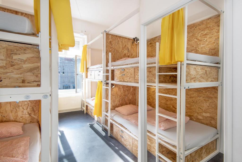 Avenue Hostel, auberge de jeunesse à Budapest avec un très bon rapport qualité prix.