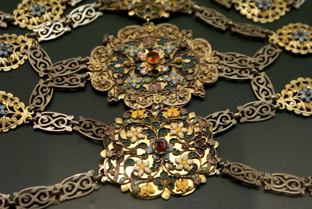 Les bijoux sont parmi les objets les plus impressionnants du Musée National de Budapest.