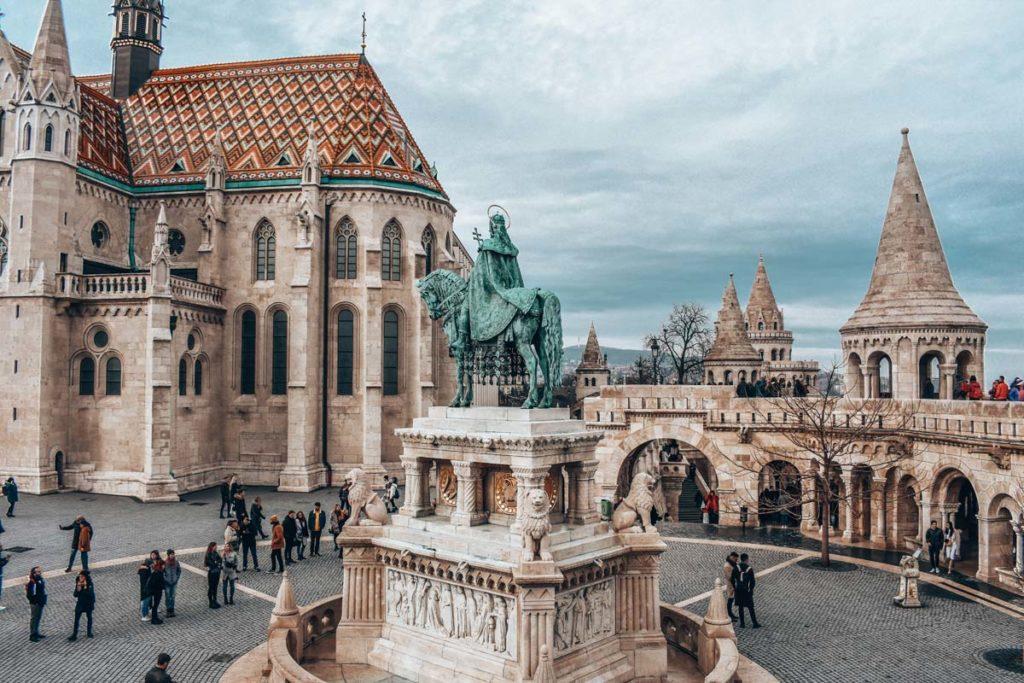 Bastion des pêcheurs et église Mattyas à Budapest - Photo d'Emma Fabbri