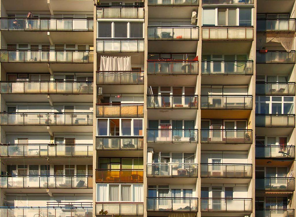 Fenêtres de Budapest - Photo de Mihaly Koles