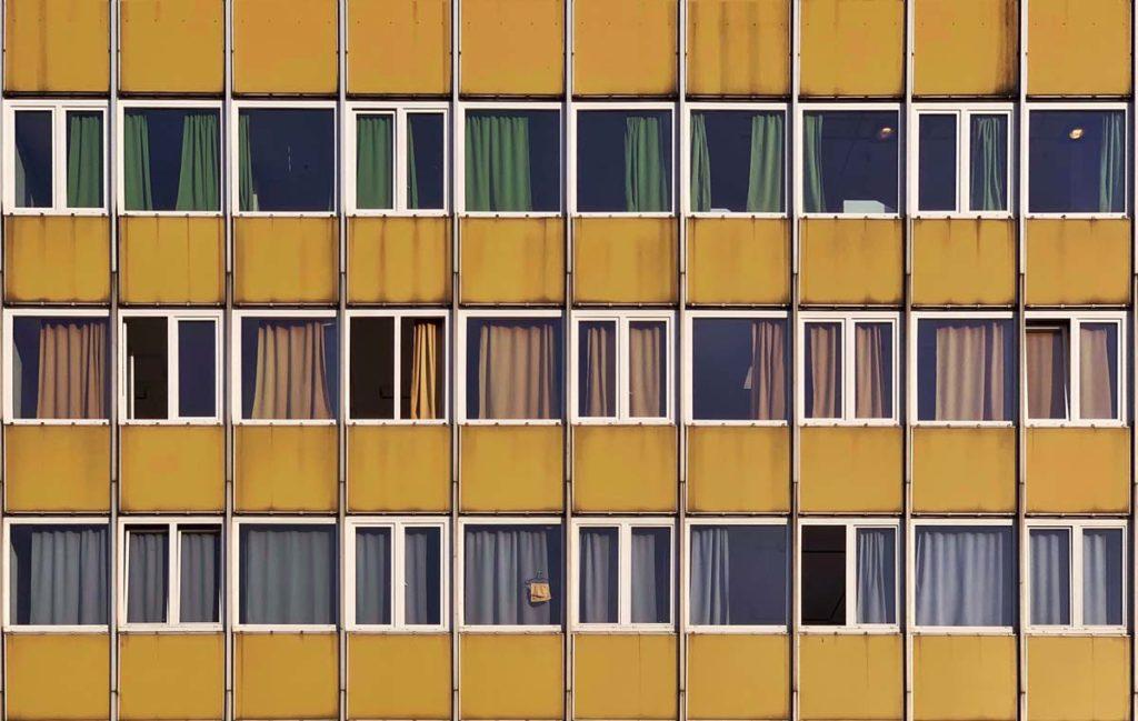 Fenêtres à Budapest - Photo de Mihaly Koles