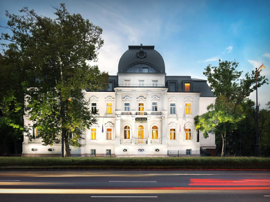 Hotel de luxe à Budapest : Mirage Medic Hotel.