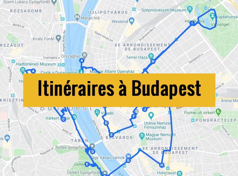 Itinéraires à Budapest pour un week-end chouette de 2, 3 jours ou plus