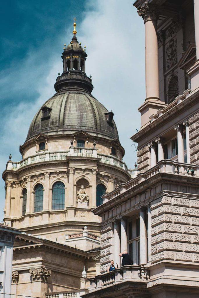 Basilique Saint-Etienne dans le quartier de Lipotvaros à Budapest - Photo de Hungarycameraclub