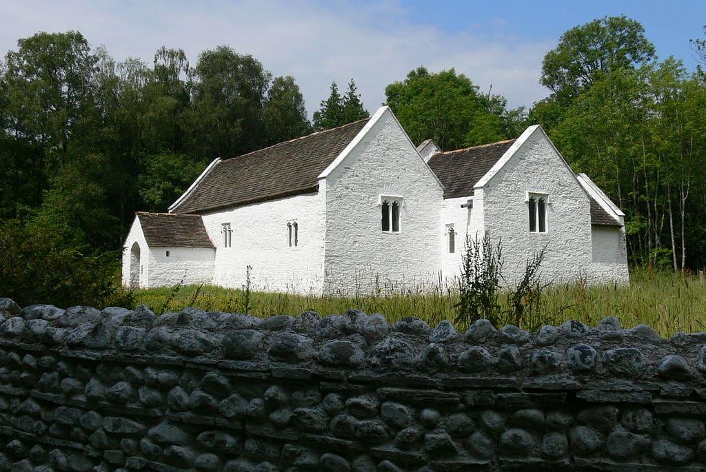 Eglise au musée ethnographique à Cardiff. Photo de Wolfgang Sauber