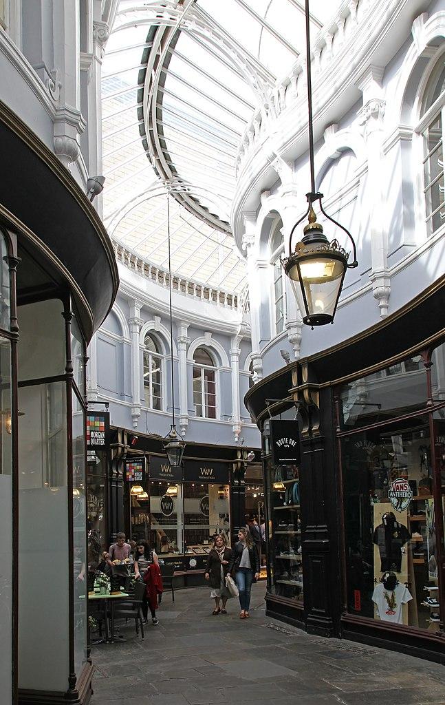 Arcade à Cardiff - Photo de Tony Hisgett