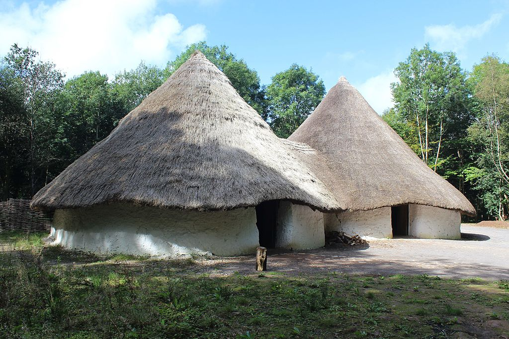 Musée ethnographique à Cardiff : Bryn Eryr Farmstead. Photo de M J Roscoe