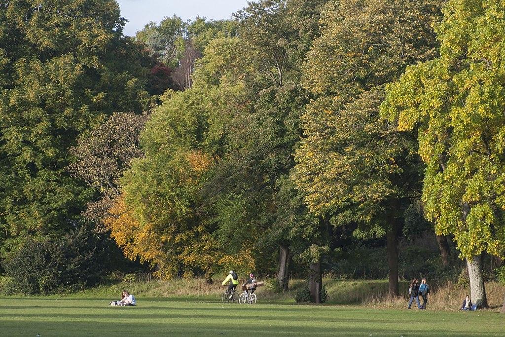 Parc de Bute Park à Cardiff - Photo de Jeremy Segrott