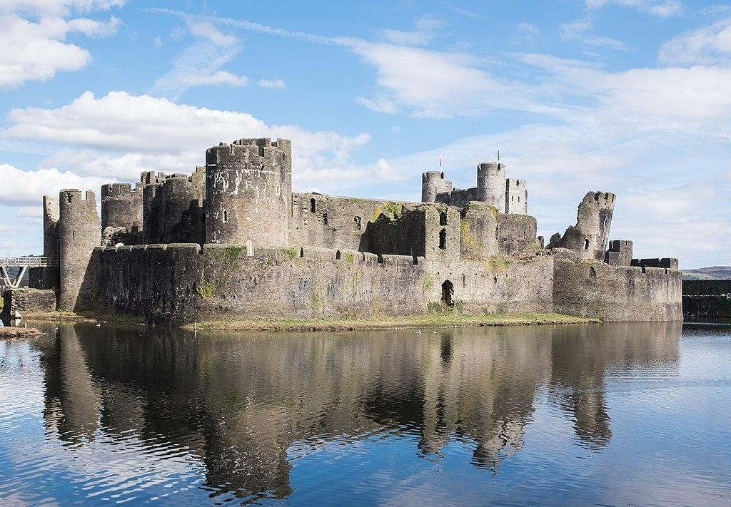 Chateau de Caerphilly près de Cardiff au Pays de Galles - Photo de DeFacto