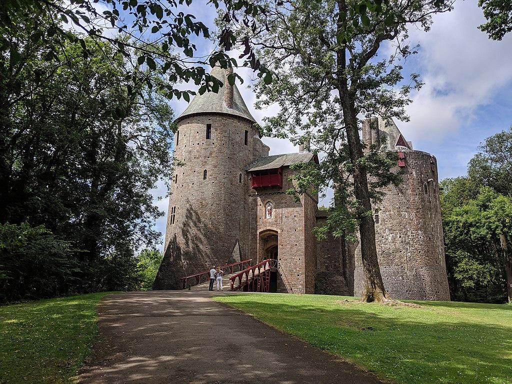 Chateau Castell Coch à Cardiff - Photo de Jason.nlw