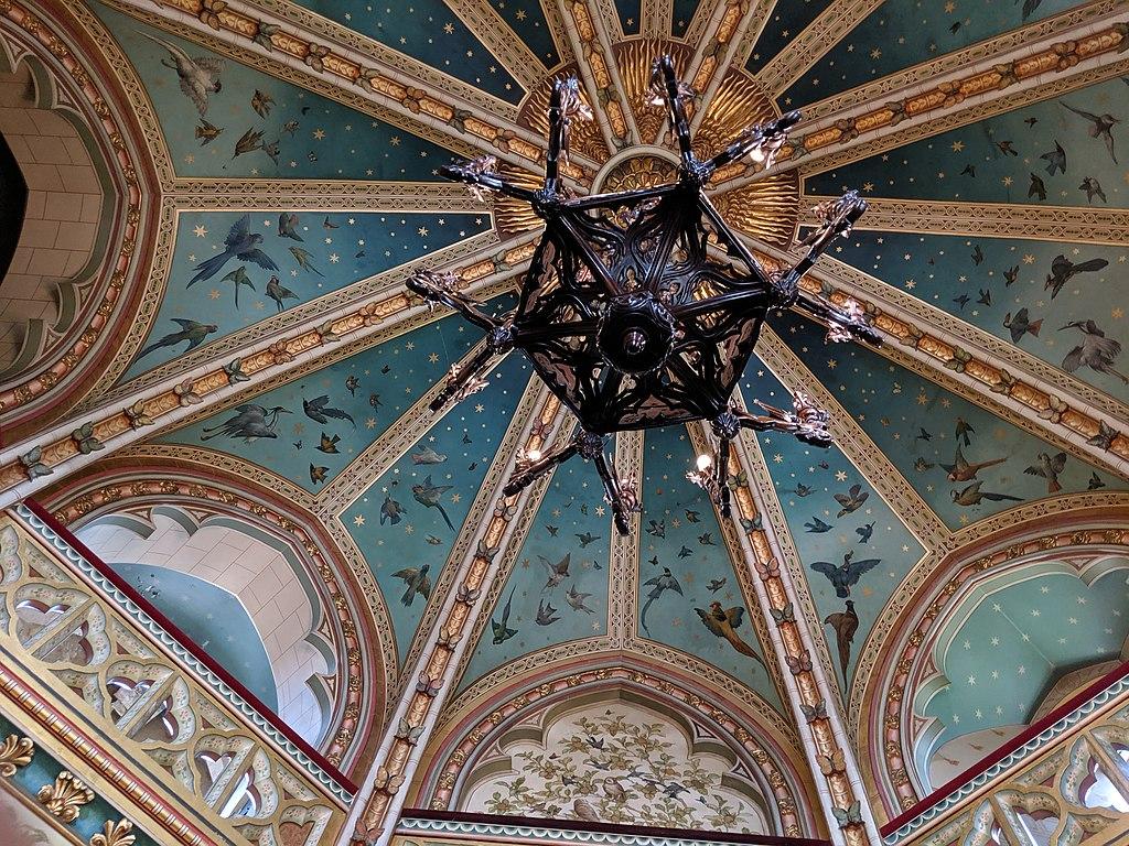 Intérieur du chateau Castell Coch à Cardiff - Photo de Jason.nlw