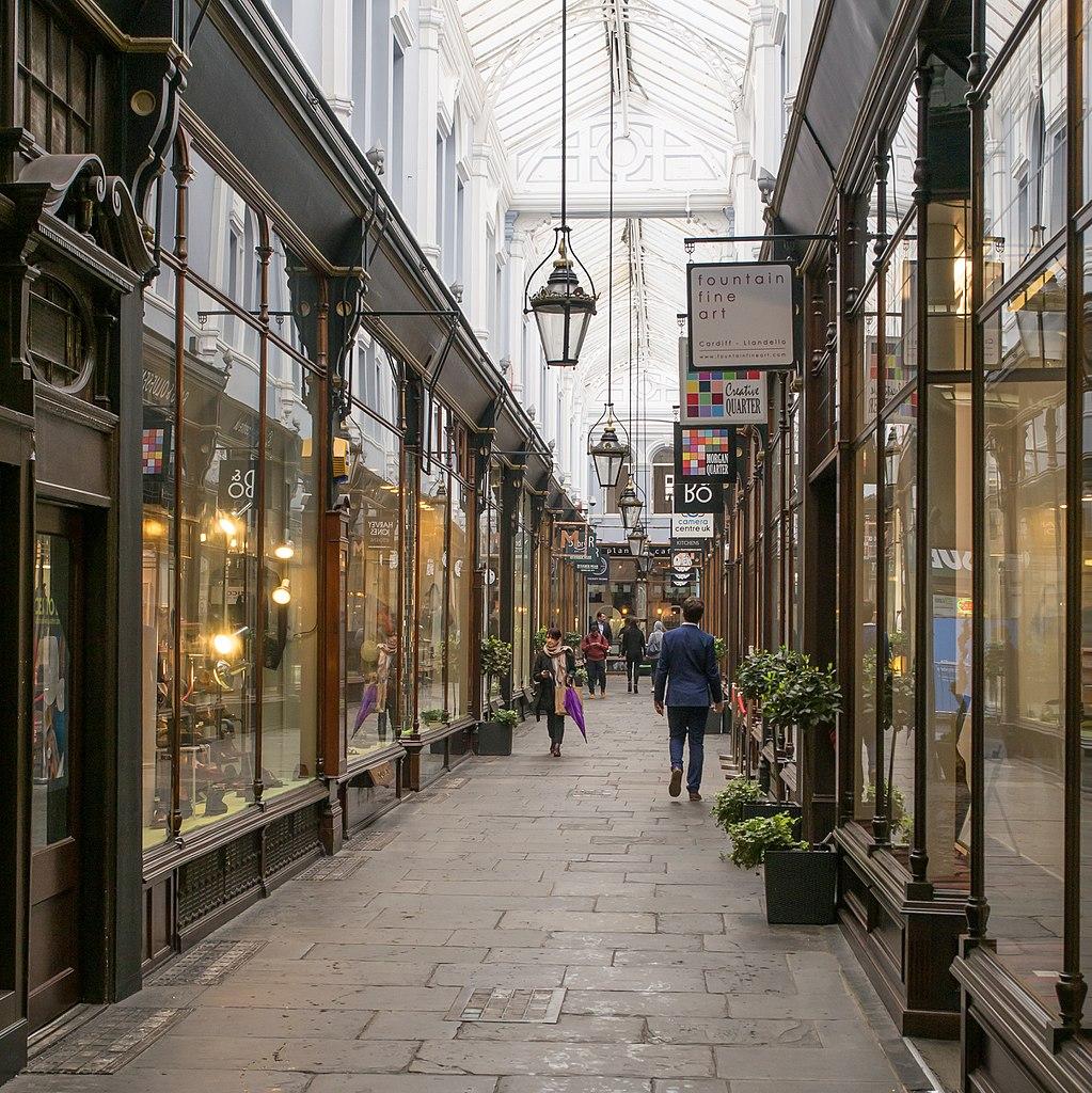 Morgan Arcade à Cardiff -  Photo de Heikki Immonen