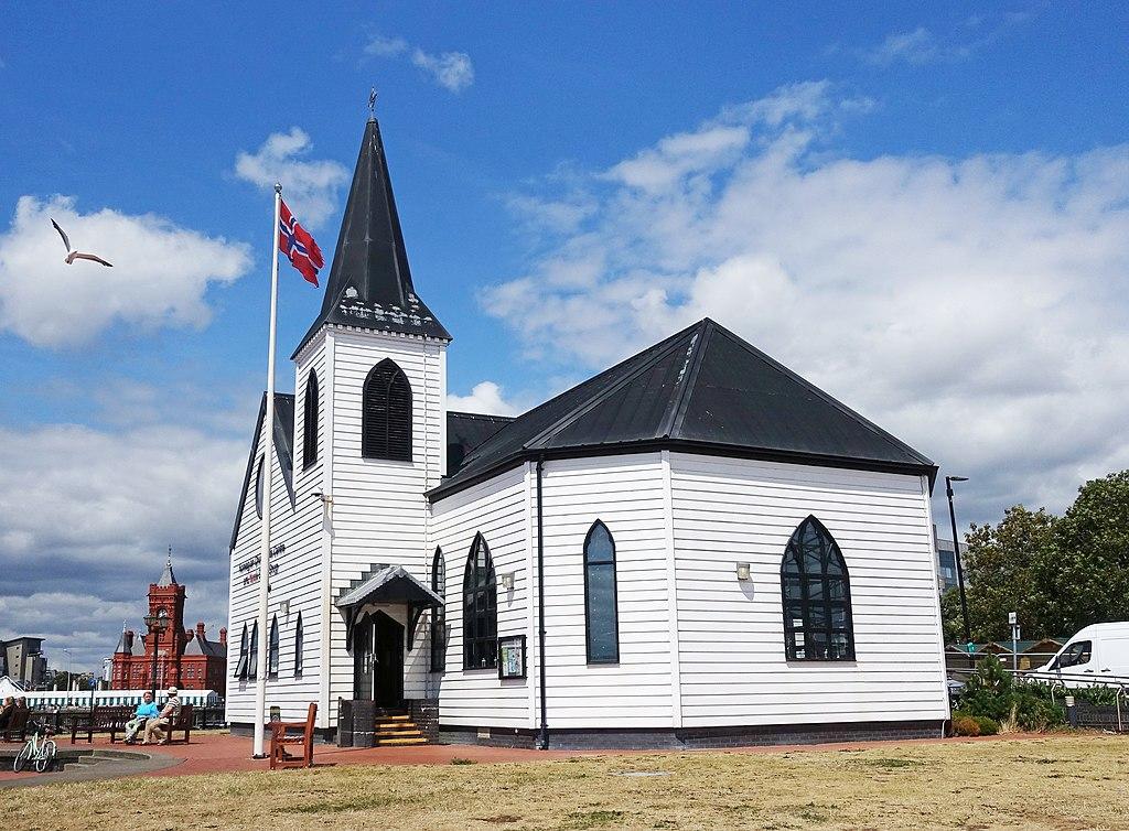Eglise norvégienne de Cardiff - Photo de Tiia Monto