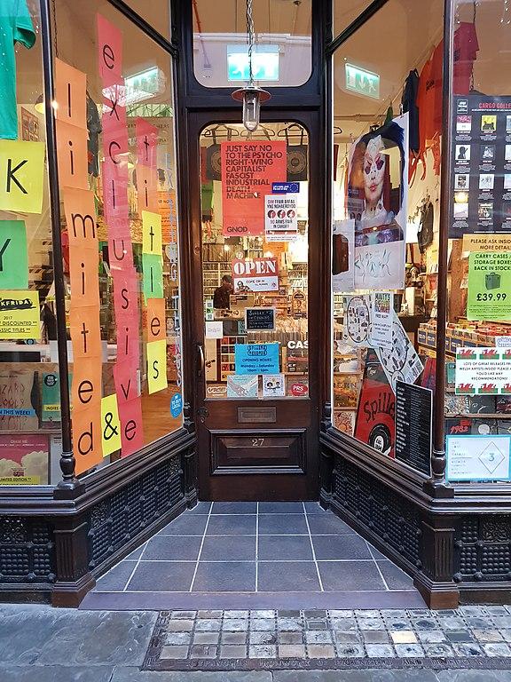 Spillers Records, disquaire à Cardiff dans la Morgan Arcade - Photo de Darren Wyn Rees