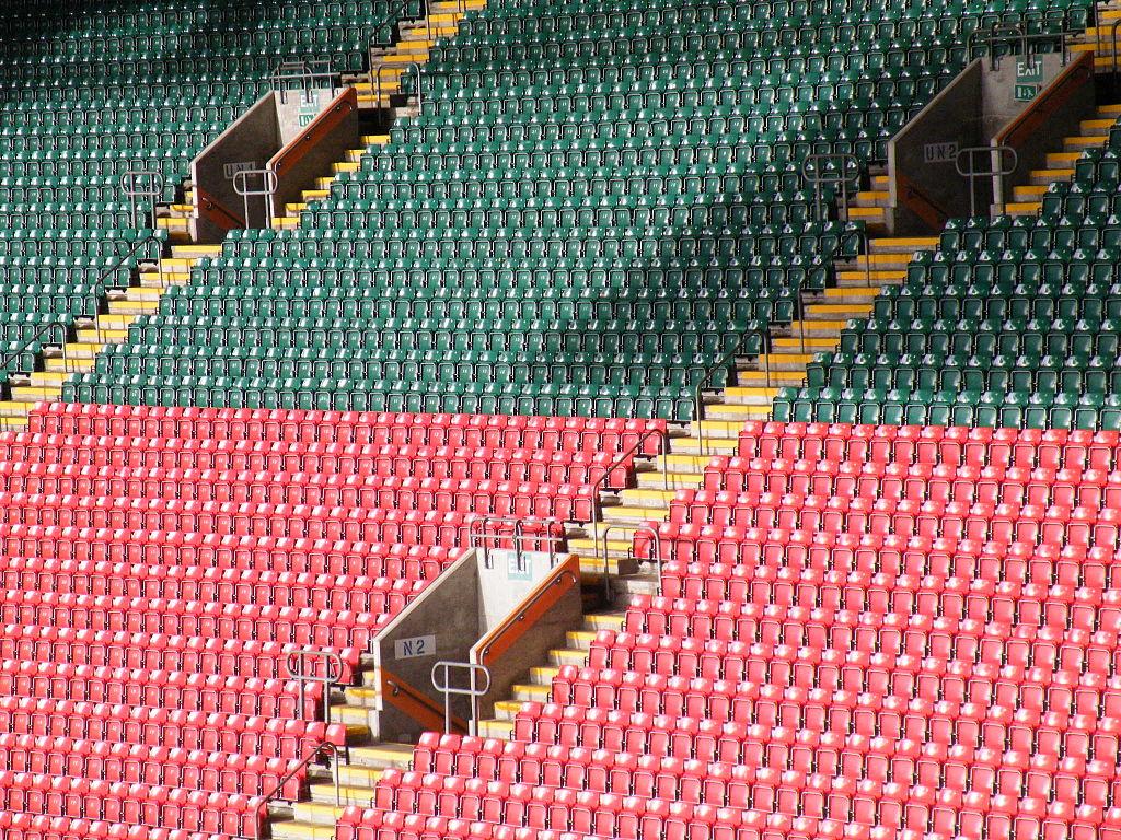 Principality Stadium, ex Millenium stadium à Cardiff - Photo de Lesbardd
