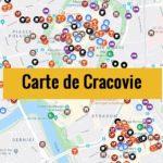 Carte de Cracovie (Pologne) : Plan détaillé gratuit et en français à télécharger