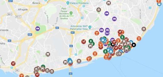 Carte De Lisbonne Plan Detaille Lieux Sympas
