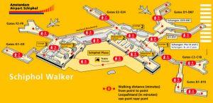 Rejoindre l'aéroport d'Amsterdam depuis le centre ville (et vice versa)