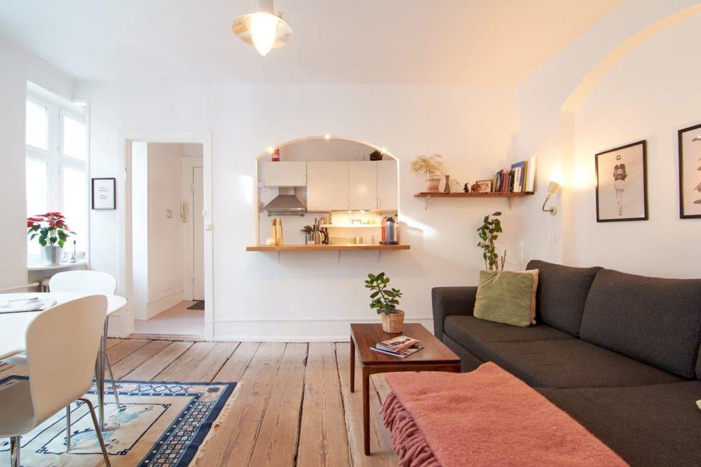 Airbnb à Copenhague - Bel appart en location dans le centre.