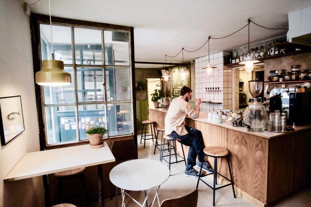 Woodah Boutique Hostel, auberge de jeunesse à Copenhague.