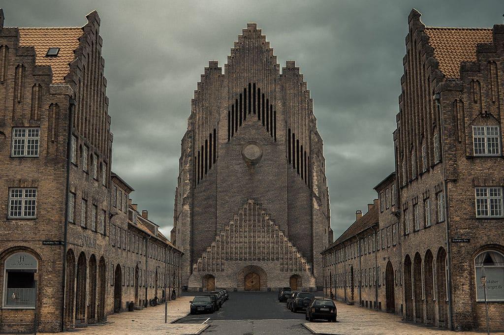 Eglise Grundvig à Copenhague - Photo de The woocash