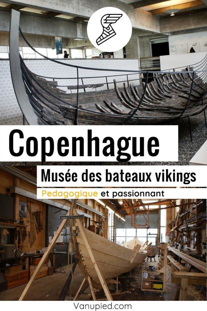 Musée des bateaux viking de Roskilde près de Copenhague