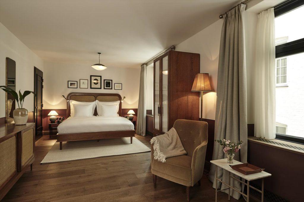 Hotel de luxe à Copenhague : Hotel Sanders.