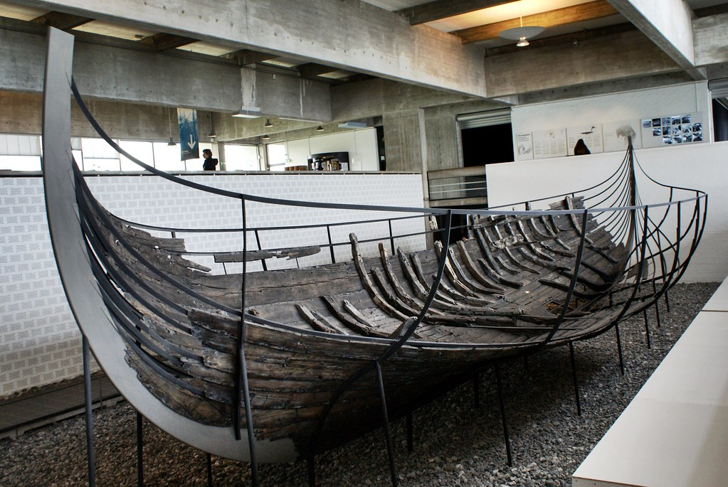Surprenant musée des bateaux vikings près de Copenhague [Roskilde]