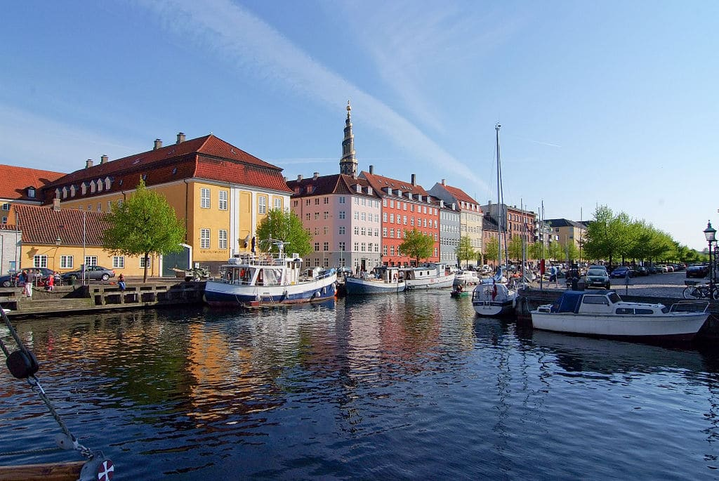 Quartier «néerlandais» de Christianshavn à Copenhague
