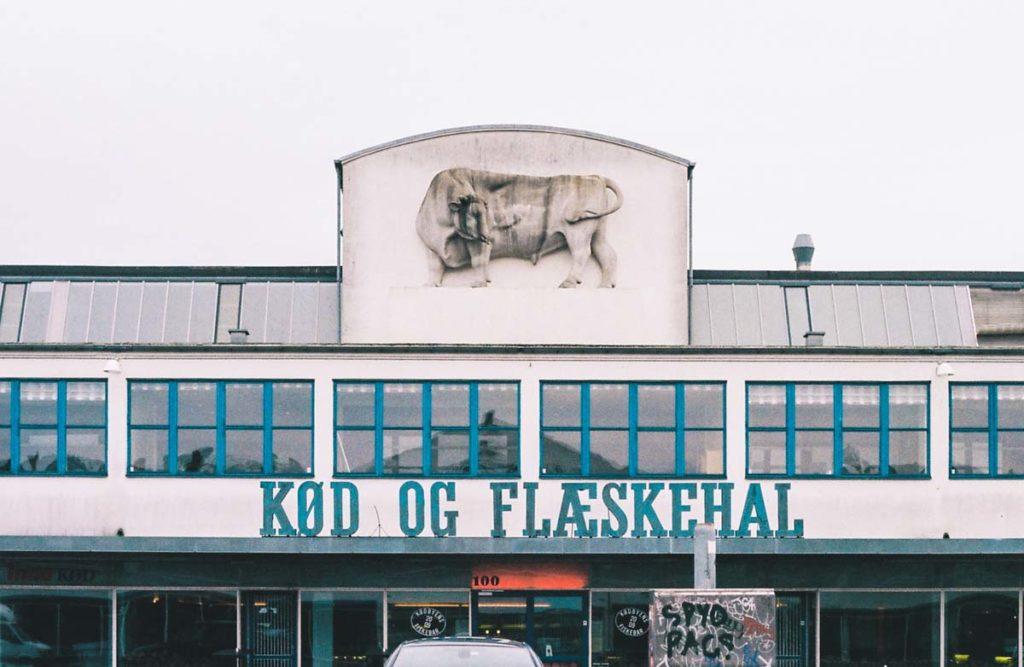 Meat packing district dans le quartier de Vesterbro à Copenhague - Photo de Christian Werther.