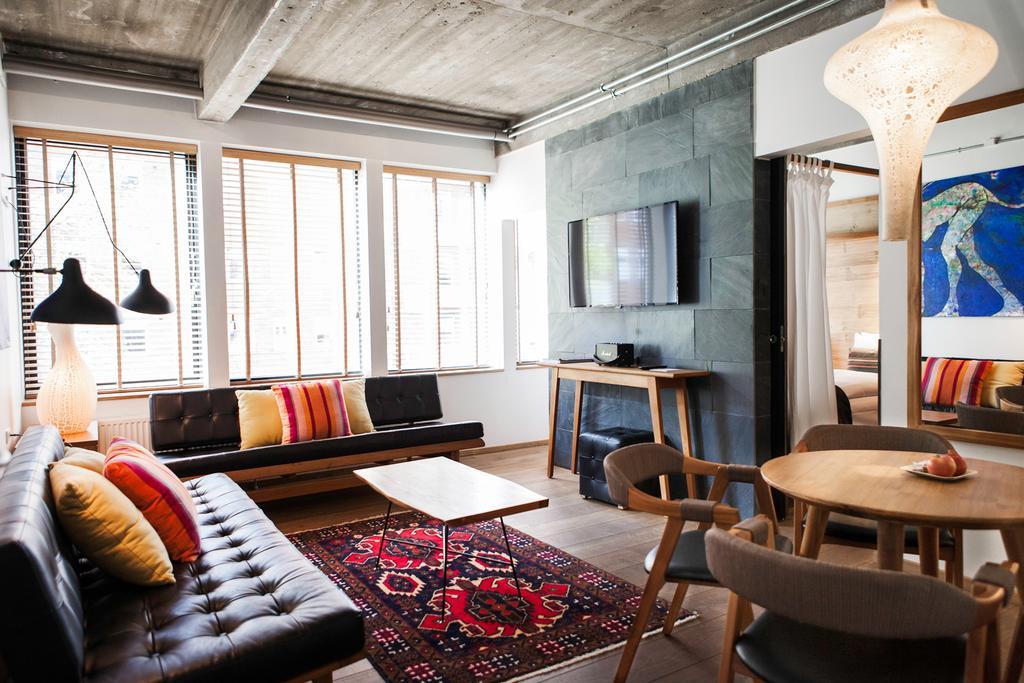 Suite de l'hôtel Manon Les Suites Guldsmeden à Copenhague.