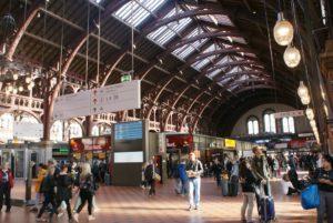 Venir à Copenhague en train