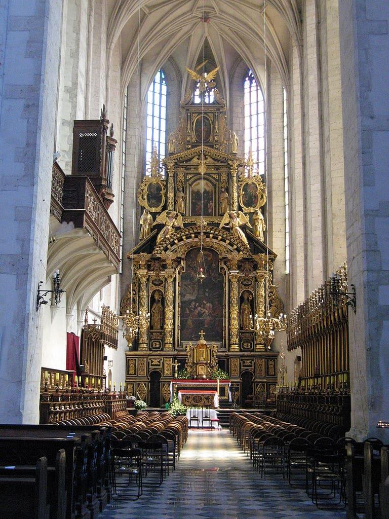 Autel de l'église Sainte Catherine à Cracovie - Photo de Pepsiline